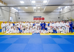 06.02.2016 British Judo Association Centre of Excellence, Walsall, England. In action special needs players from around the country  participating in the inclusion day event.