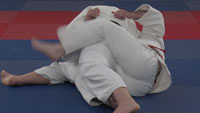 kesa gatame escape Step 1