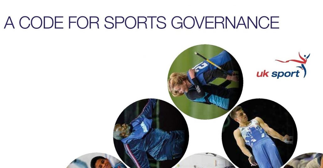 Uk Sport A Code For Sports Governance Report