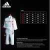 Adidas Judo Uniform J250 GB Stripes 110cm - 150cm-2821