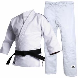 Adidas J500 Judo Suit White-0