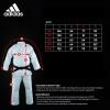 Adidas Contest Judo Suit - White 690g-2793