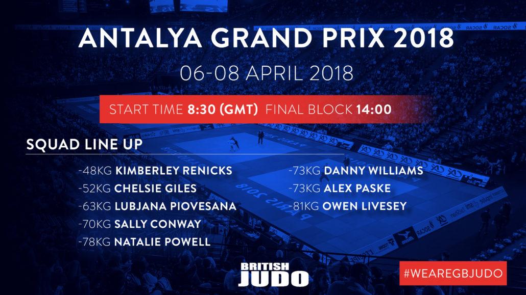 GB Judo Preview: 2018 Antalya Grand Prix - British Judo