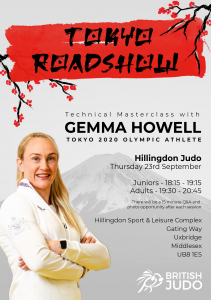 Hillingdon Judo - Gemma Howell Masterclass